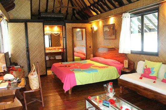 Vahine Island - Private Island Resort: chambre