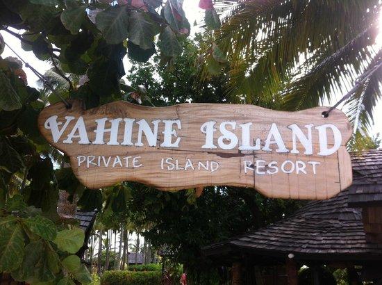 Vahine Island Resort: paradis