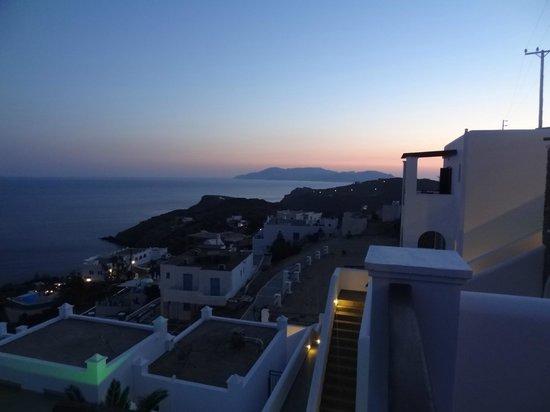 Hotel Katerina: View at night