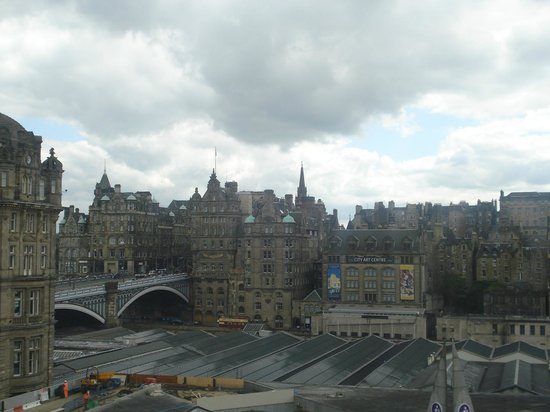 Royal British Hotel: View from Room