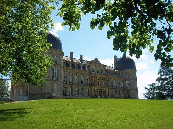 Chateau de Digoine : Vue du parc