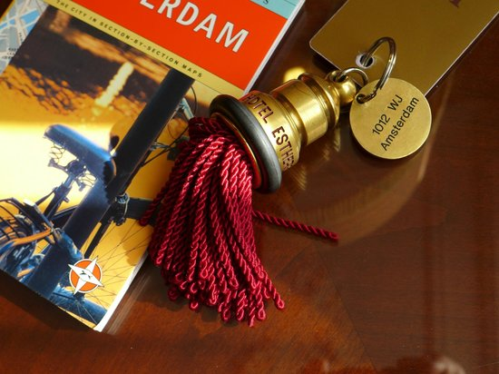 Hotel Estherea : Charming key fob