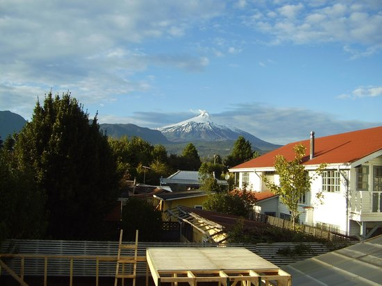 Hotel Geronimo Pucon: vista do quarto