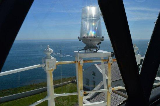 Lizard Lighthouse Heritage Center: Blue sea and sky