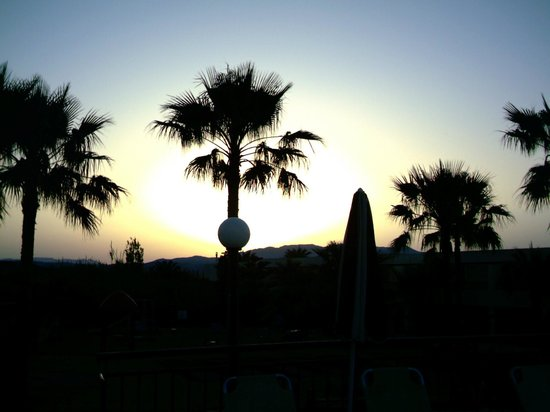 Solimar Aquamarine Hotel: sunset