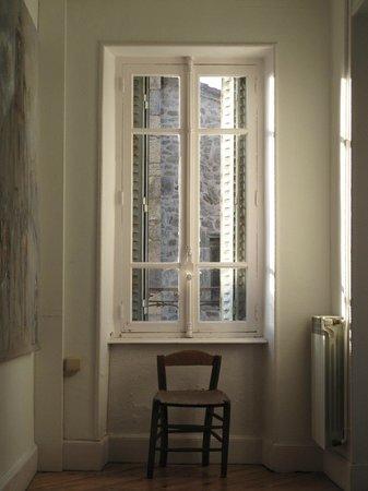 Auberge de Chassignolles: au fond du couloir, à notre étage...