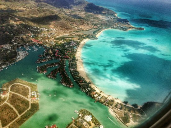 Jolly Beach Resort & Spa: View from the air