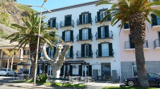 Hotel da Vila: Voorgevel