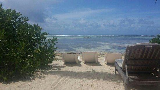Crown Beach Hotel: vista mare