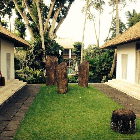 COMO Uma Ubud, Bali: the entrance
