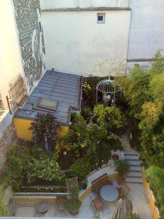 Paris-Oasis: Le jardin vu du loft