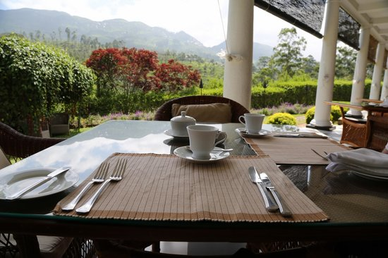 Ceylon Tea Trails: Breakfast view