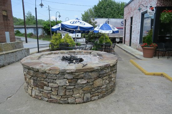 Universal Joint : Fire pit