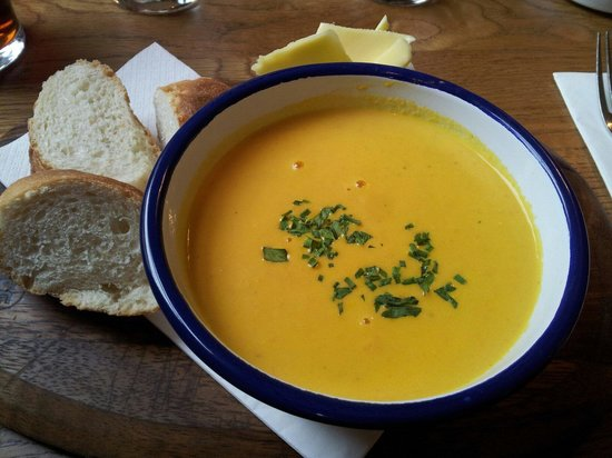 The Salamander: Carrot soup