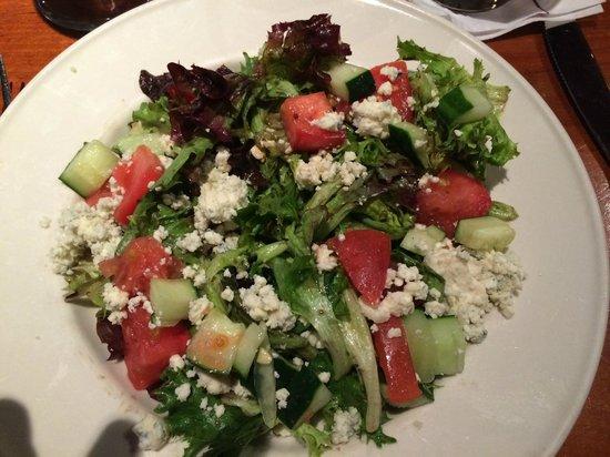 Old Ebbitt Grill: House Salad with Gorgonzola