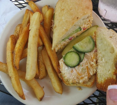 Universal Joint: Pimento cheese sandwich