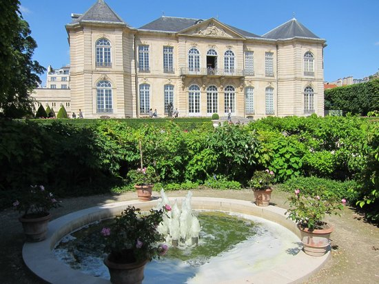 Musée Rodin : View from the gardens