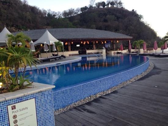 Buccament Bay Resort: entre 2 piscines