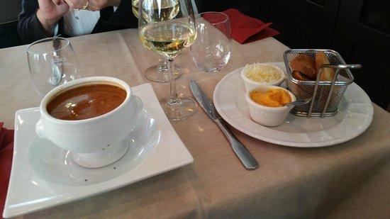 restaurant du port : must have the fish soup