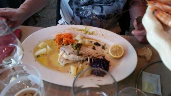 restaurant du port : stingray fillet