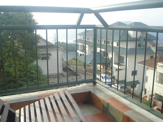 Ayur County Resorts: View from balcony