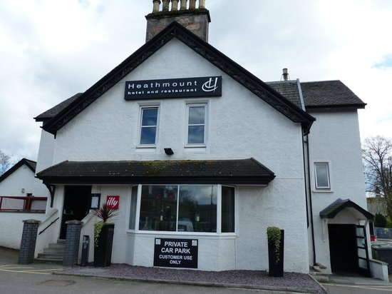 Heathmount Hotel: Prima hotel in Inverness