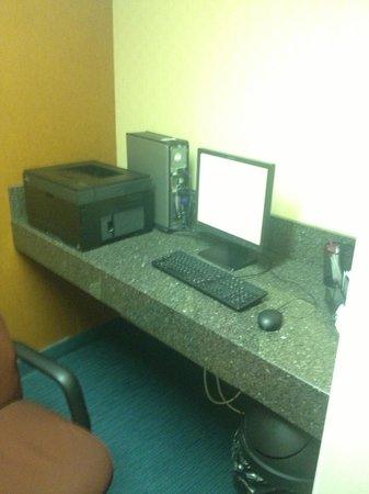Residence Inn Denver North/Westminster: Internet access area