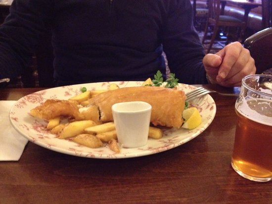 The Mitre: Fish and Chips