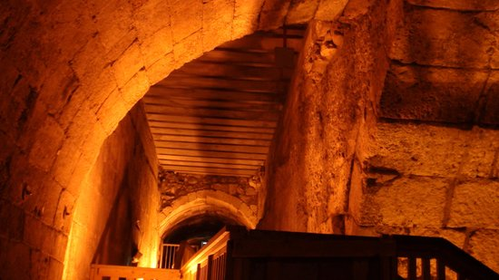The Western Wall Tunnels: Les sous-terrains