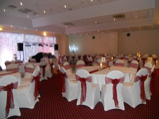 Our Beautiful Wedding Reception Room All Set To Go Picture Of