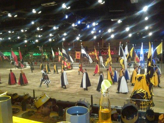 Medieval Times Buena Park: Desfile