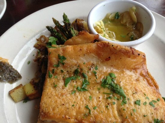 Fontana Village Resort: Sauted trout
