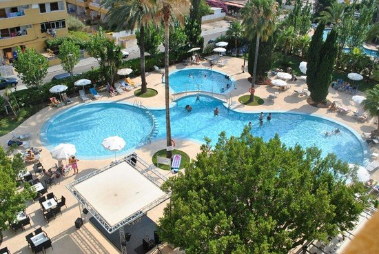 Hotel JS Sol de Alcudia: Der Pool