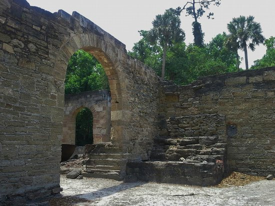 Sugar Mill Ruins : Lovely surroundings, they also have a nature trail.