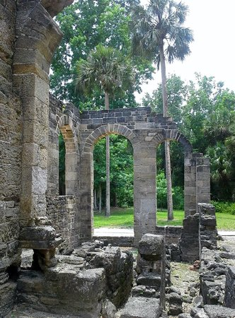 Sugar Mill Ruins : Hidden treasure in New Smyrna Beach.