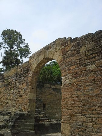 Sugar Mill Ruins : Coquina construction
