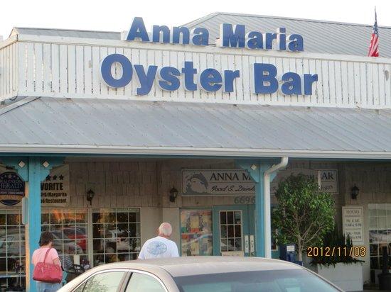 Anna Maria Oyster Bar - Cortez : Oyster Bar