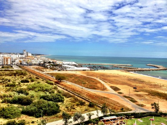 Crowne Plaza Vilamoura - Algarve: Side Sea view