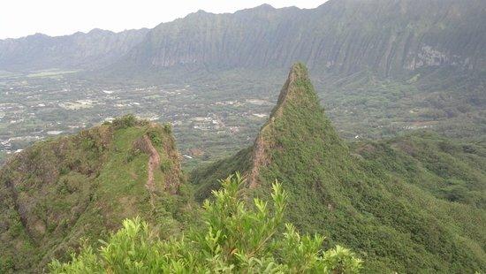 Olomana Three Peaks Trail: epic
