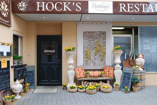 Speisegaststätte Hock / Hock's Restaurant: Eingangsbereich