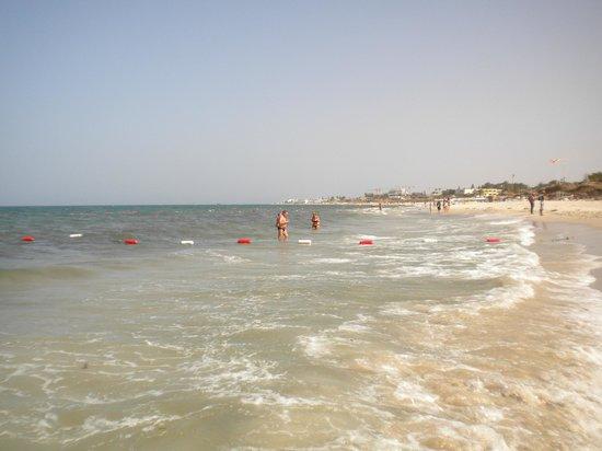 El Mouradi Club Selima : vue de la plage