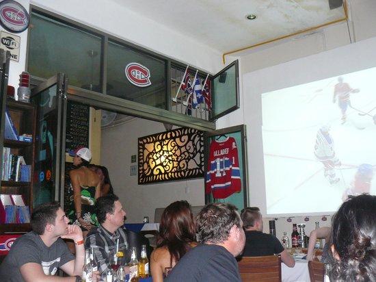Los Tabernacos Sports Bar and Lounge: De vrais fans