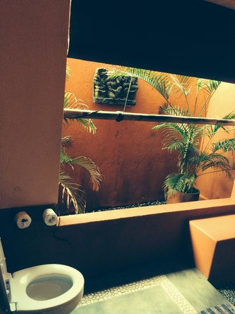 PinkCoco Bali : well vented bathroom