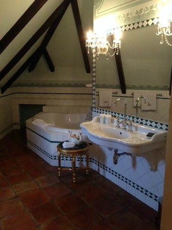 Alchymist Nosticova Palace : Bathroom fit for a Queen