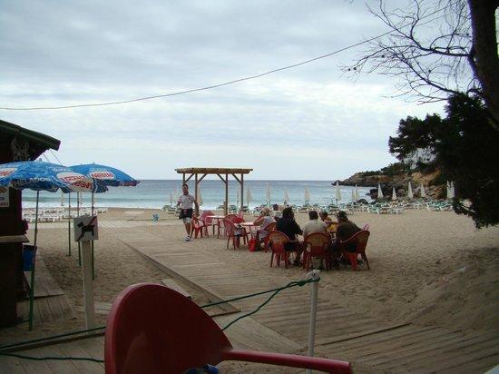 Hotel Club Can Jordi : Cala Llenya bei nicht so schönem Wetter
