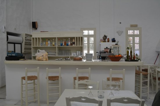 Anezina Village : kitchen in main dining area