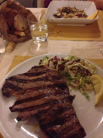 Peperosa : Bistecca - melt in your mouth.