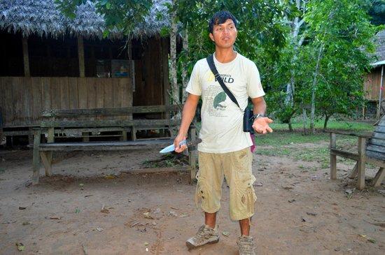 Refugio Amazonas: jackson our guide