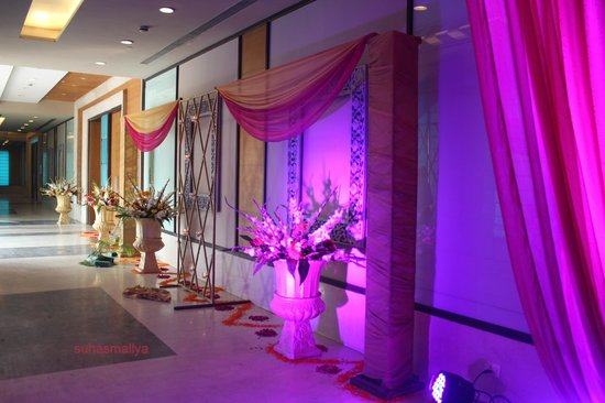 tivoli grand resort hotel next to the lobby decor is specific to our function - Violet Hotel Decor