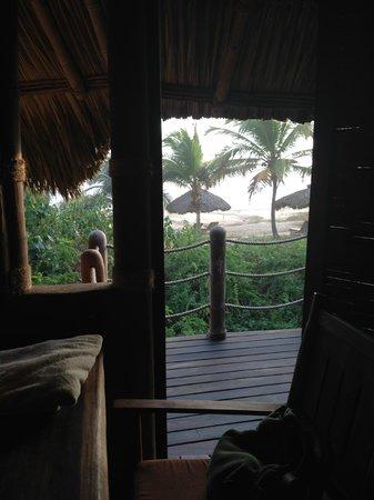 Playa Viva: Vista desde el cuarto